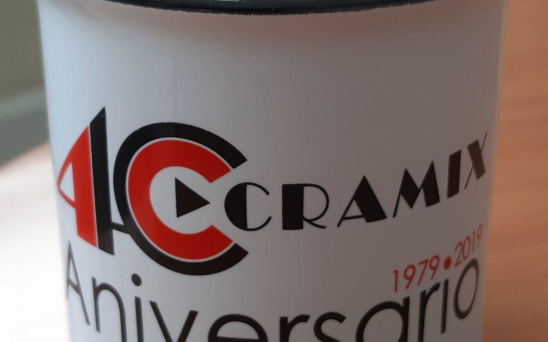 El próximo día 6 de Septiembre celebraremos el 40 aniversario de Cramix