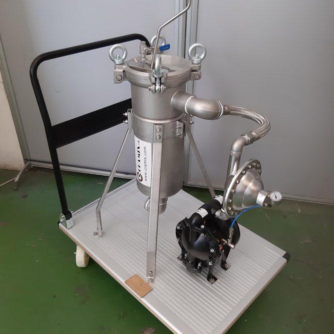 CRAMIX acaba de suministrar un completo sistema de bombeo y filtrado a un importante fabricante de pintura nacional
