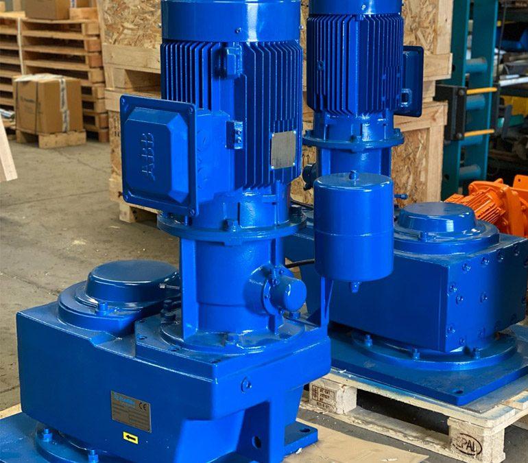 Cramix a través del fabricante de agitadores Fluidmix , ha entregado 6 agitadores modelo VPS3 a un importante fabricante nacional