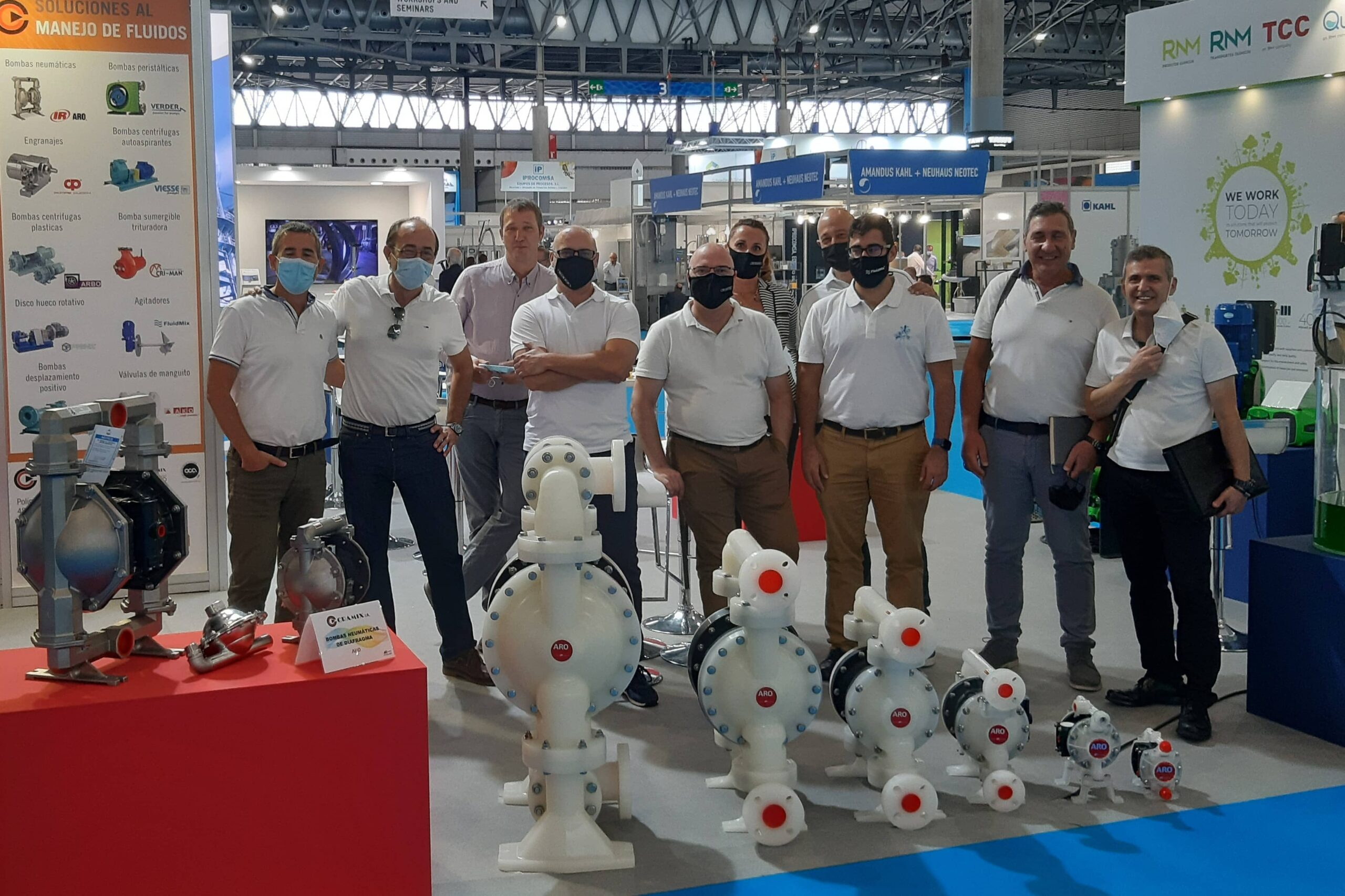 Feria Expoquimia 2021 - Stand Cramix