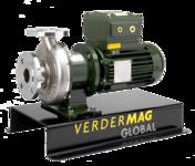 Bomba centrífuga metálica magnética Modelo PC125M