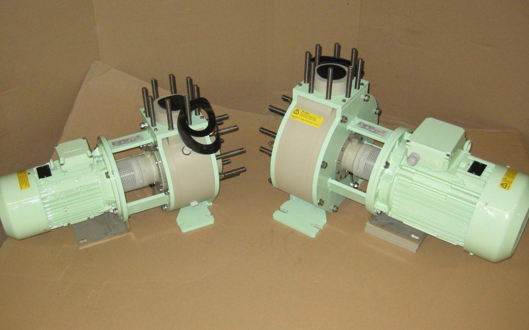 Cramix acaba de suministrar dos bombas centrífugas plásticas marca ARBO a una depuradora de tratamiento de aguas residuales