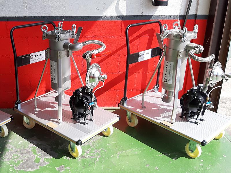 Cramix suministra 3 sistemas completos para un importante fabricante de pinturas nacional
