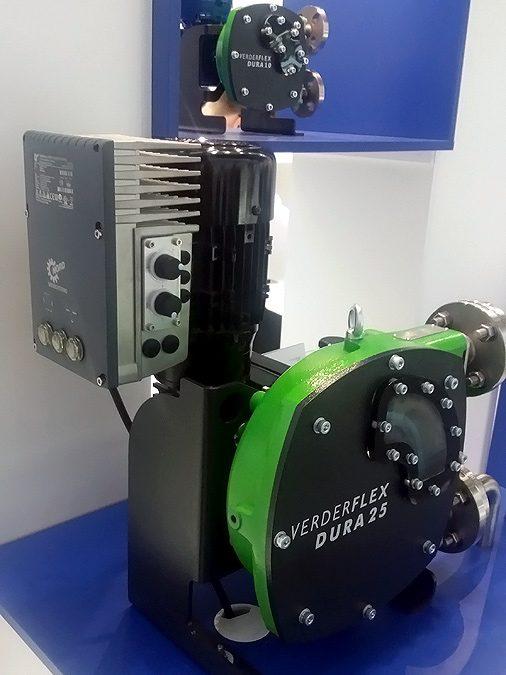 Cramix presenta las nuevas bombas peristálticas Verderflex serie Dura con variador integrado