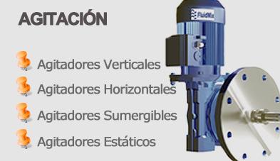 Catálogo AGITADORES INDUSTRIALES, VERTICALES, HORIZONTALES, SUMERGIBLES, ESTÁTICOS
