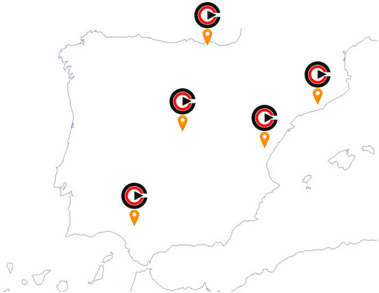 Mapa Delegaciones CRAMIX